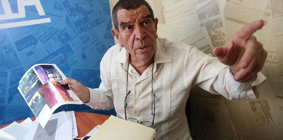 Residente denuncia conspiración para expulsarlo de un terreno de Villa Grecia