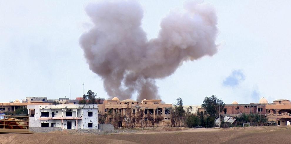 Aviones turcos bombardean objetivos del EI en Siria