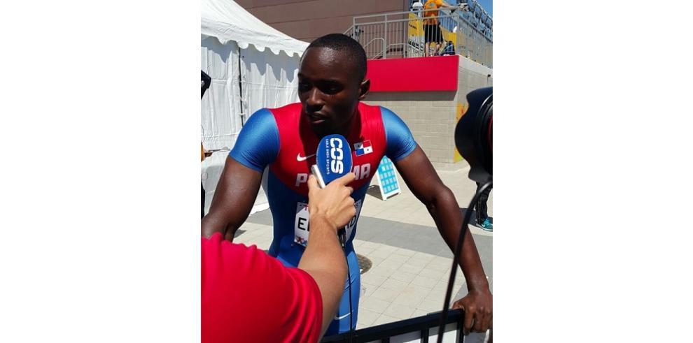 Alonso Edward clasifica a la semifinal de los 200 mts plano
