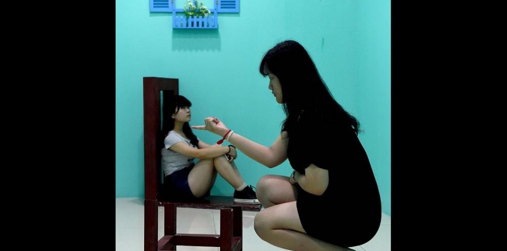Museo de arte e ilusión óptica en China