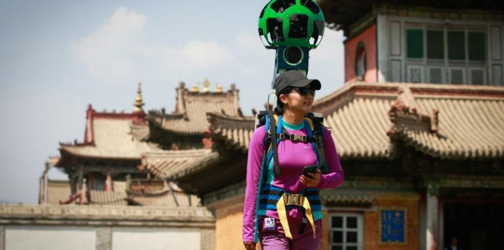Google Street View entra en Mongolia a caballo