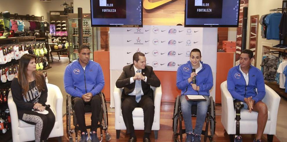 Atletas paralímpicos, listos para dar la gran batalla
