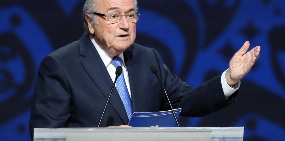 Blatter y los