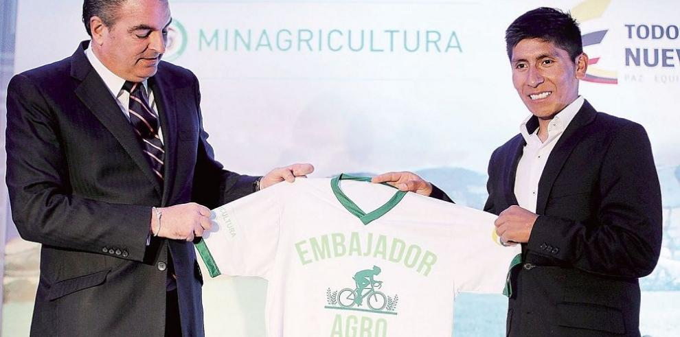 "Quintana cree que Contador seguirá ""de rosa"" hasta el final"