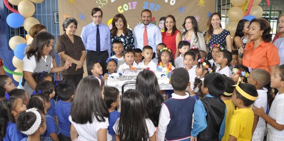 Banconal celebra los 33 años de parvulario