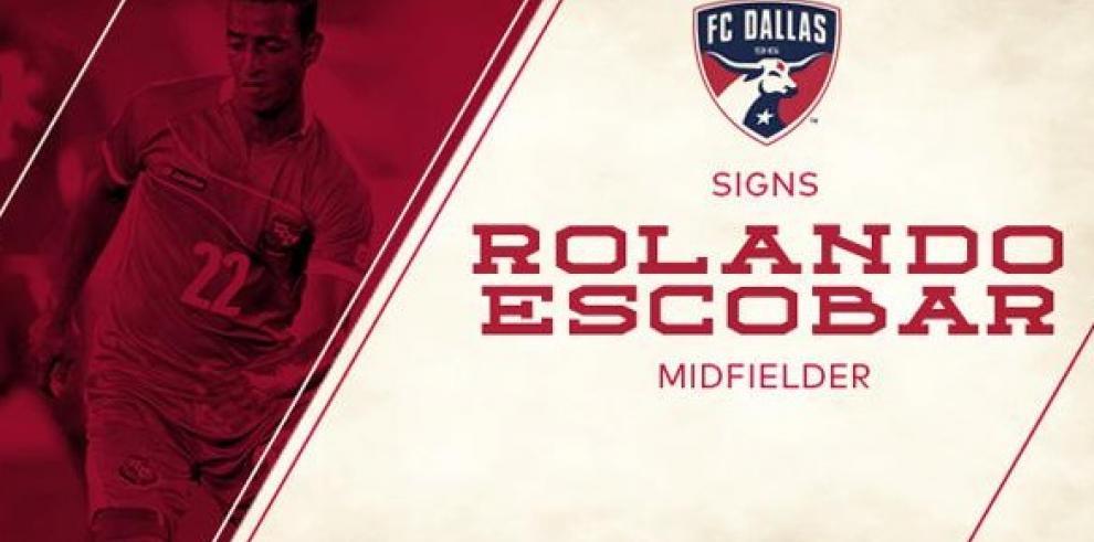 Rolando Escobar ficha con el FC Dallas