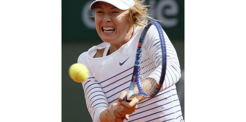 María Sharapova y Murray presentan sus credenciales