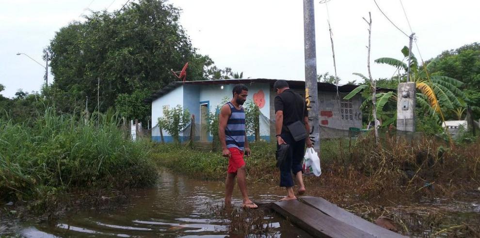 Inundaciones sin lluvias en Panamá y el interior