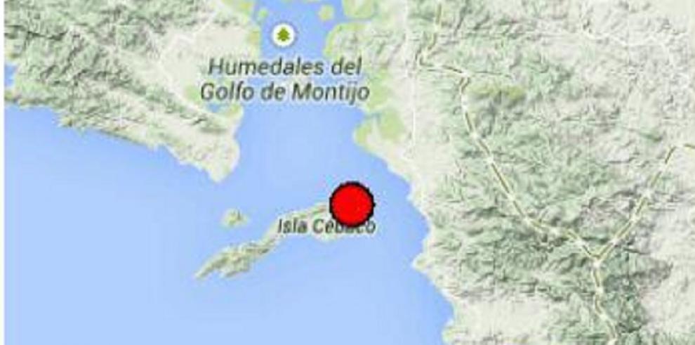 Se registra temblor en el Sur de Veraguas
