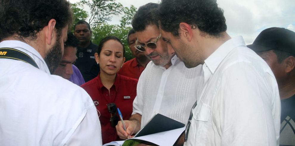 Representantes de la CIDH visitan a indígenas