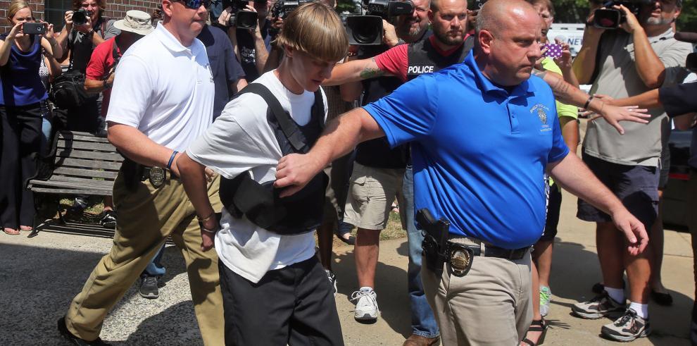 Arrestan al sospechoso de la peor masacre racista en EE.UU.