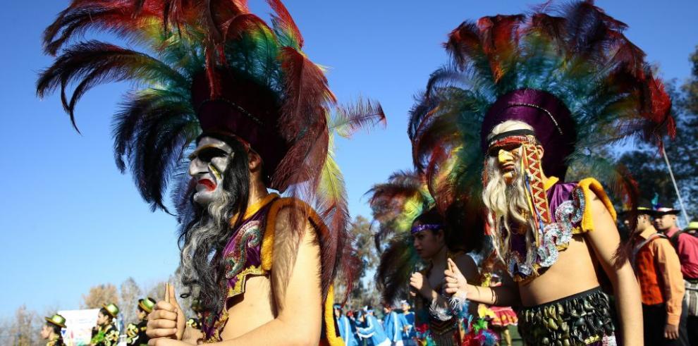 Inauguración de la Copa Americana de Pueblos Indígenas en Chile