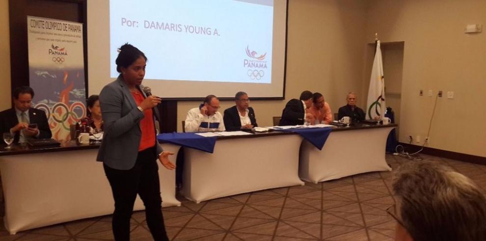 Panameña integrará comisión del COI