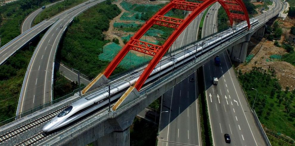 CRH prueba nuevo tren