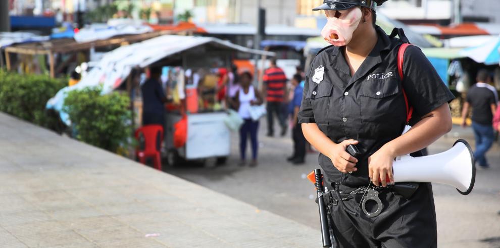 Trabajadoras sexuales de Panamá en contra de la represión policial