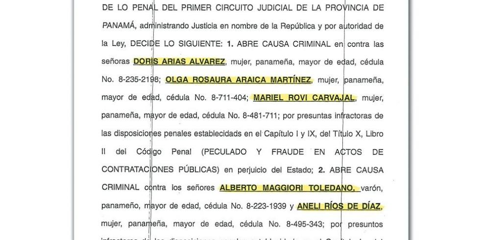 Alberto Maggiori, citado a juicio