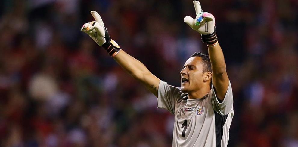 Keylor Navas se quedará en el banquillo en el amistoso Costa Rica-Panamá