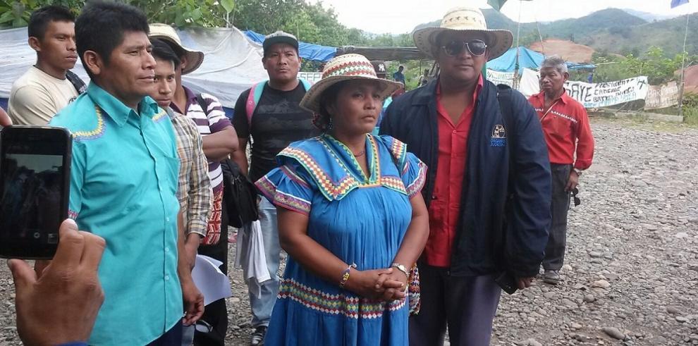 Indígenas dejan abierta la puerta de diálogo con Varela