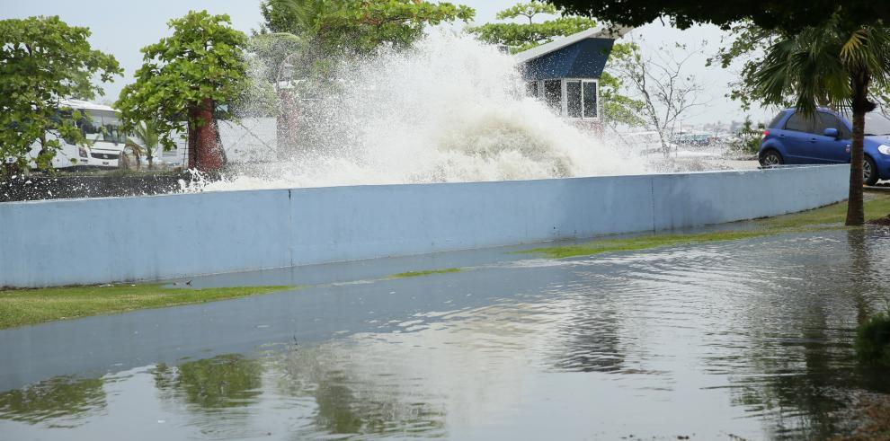 Sinaproc mantiene alerta verde en el Pacífico