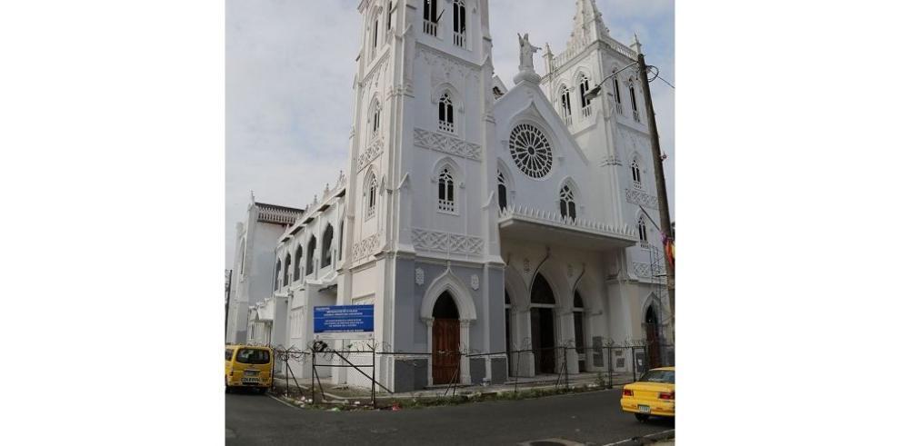 Avanza la restauración de la Catedral de Colón