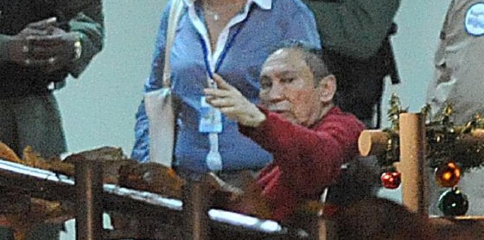 Manuel Antonio Noriega irá a juicio el 21 de mayo