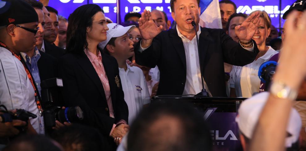 Hoy se cumple un añodel triunfo de Juan Carlos Varela