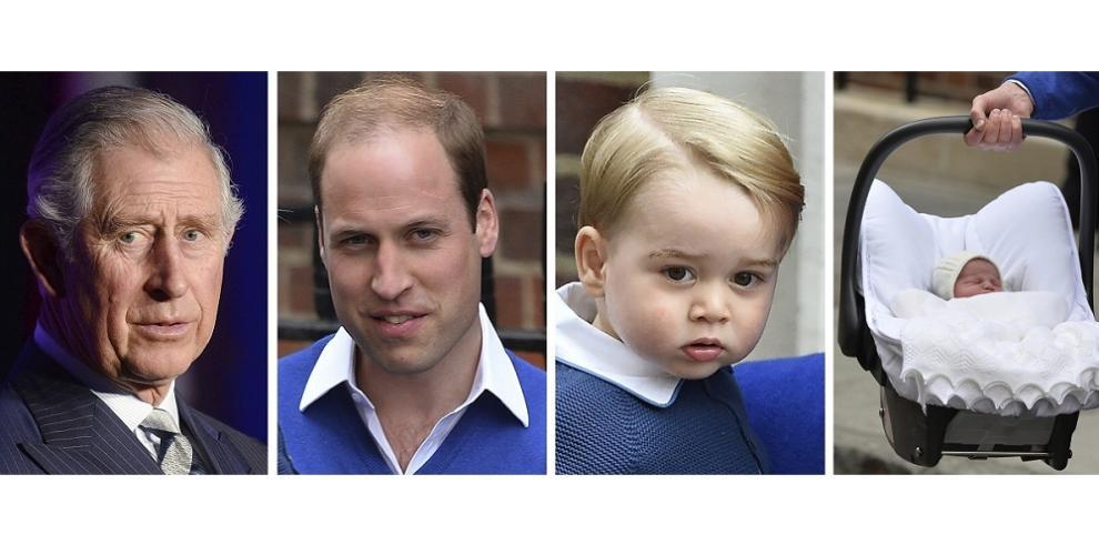 Hija del príncipe Guillermo se llama Carlota Isabel Diana