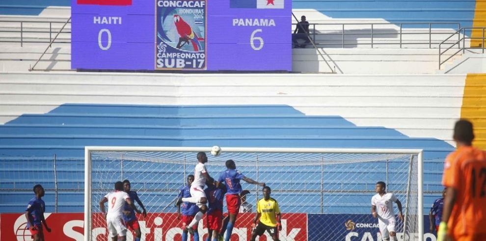 Panamá se recupera y le propina una paliza a Haití