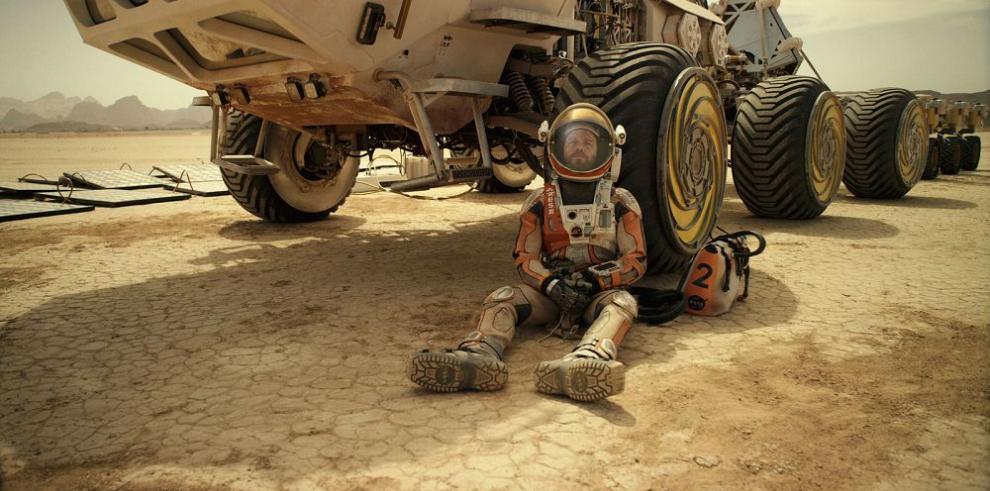 """""""The Martian"""" vuelve a encabezar taquilla en EE.UU"""