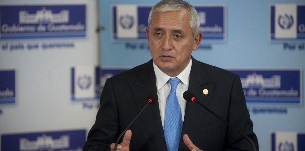 Comisión del Congreso reanuda investigación a Otto Pérez Molina