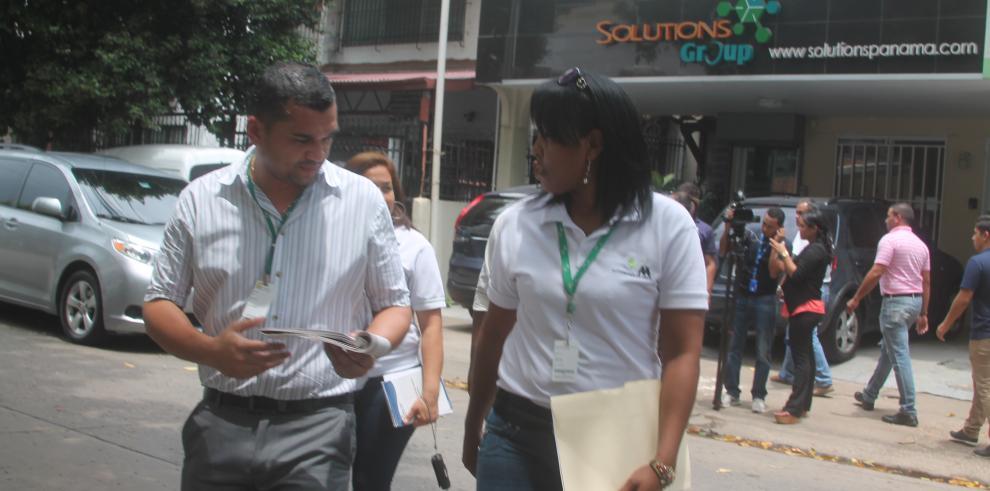 AAUD entregó citaciones a empresas por mala disposición de desechos