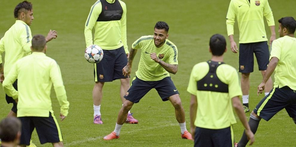 Luis Enrique se espera un Bayern