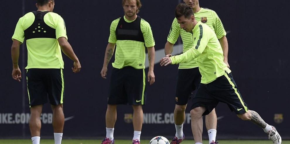 Barcelona con todo su plantel para el Bayern