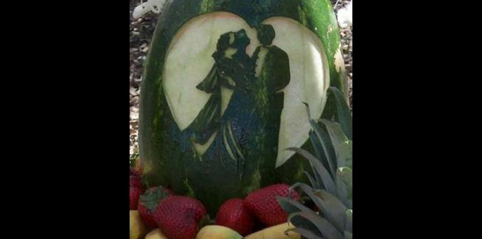 Mukimono arte de decorar frutas y verduras