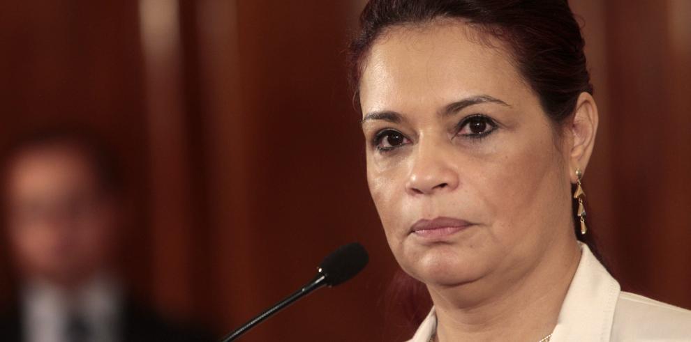Exvicepresidenta de Guatemala dispuesta a enfrentarse a la justicia