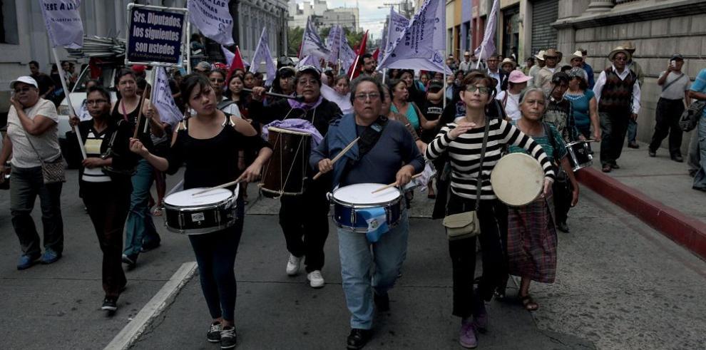 Exigen reformar la ley electoral en Guatemala
