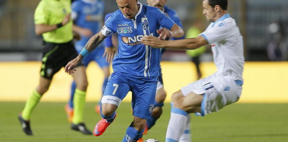 Empoli vence a Nápoles y se permanecerá en Serie A
