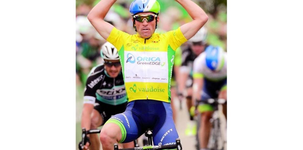 Suizo Albasini más líder al ganar su segunda etapa