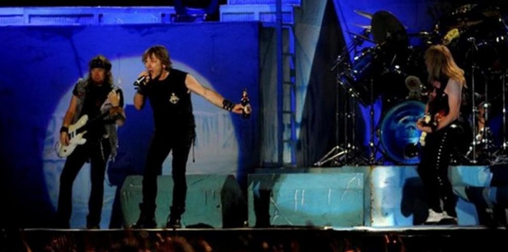 Iron Maiden actuará por primera vez en El Salvador en marzo de 2016