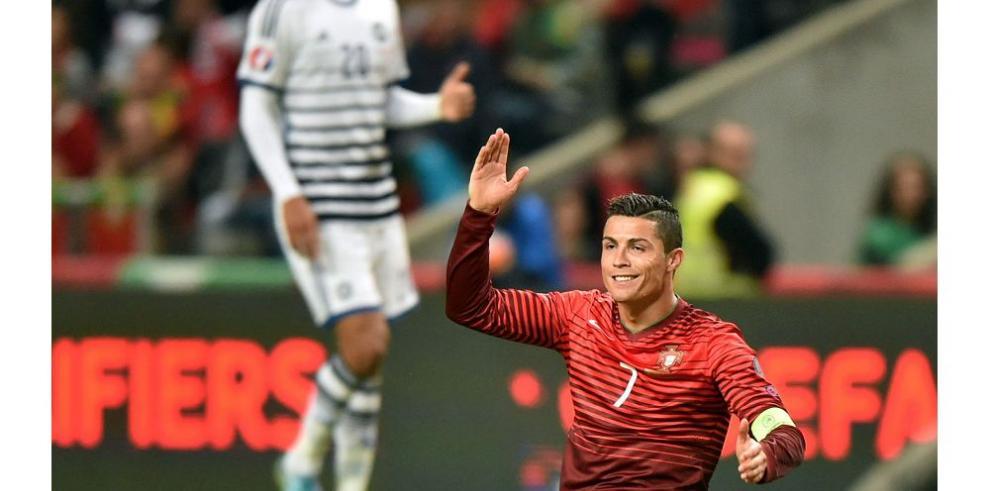 Ronaldo no ha marcado con Portugal en 6 de 9 partidos