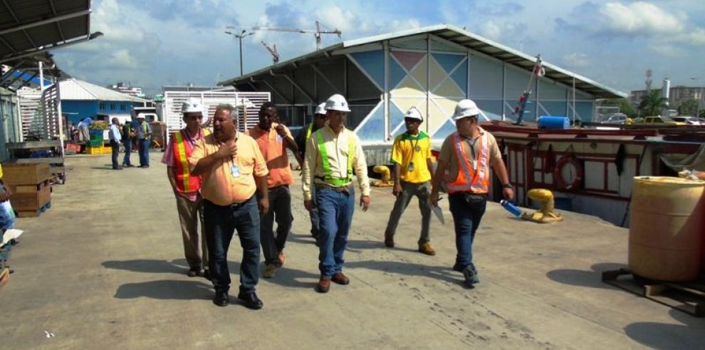 AMP realiza inspección en el Muelle Fiscal