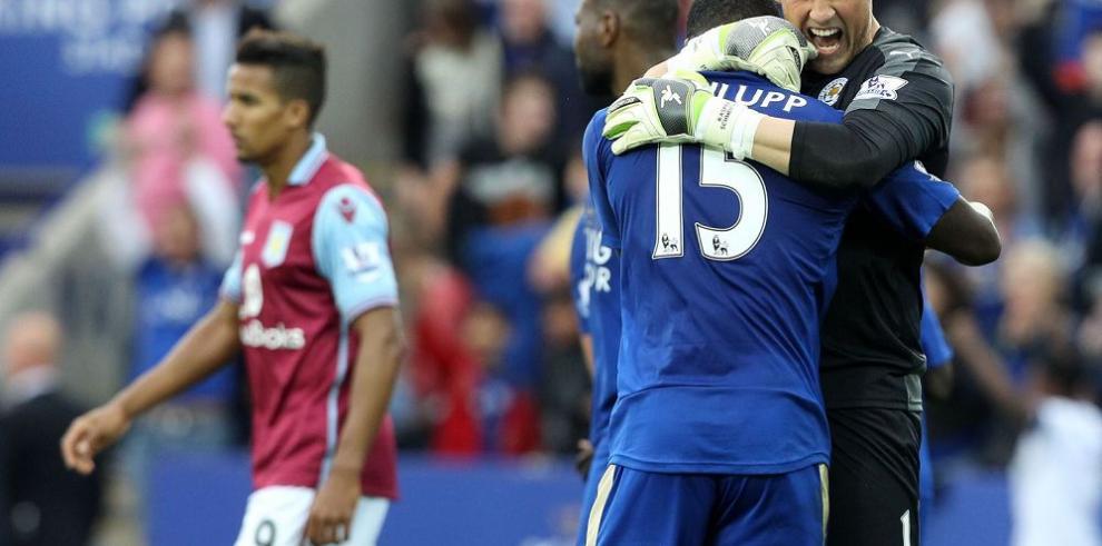Leicester gana y es segundo
