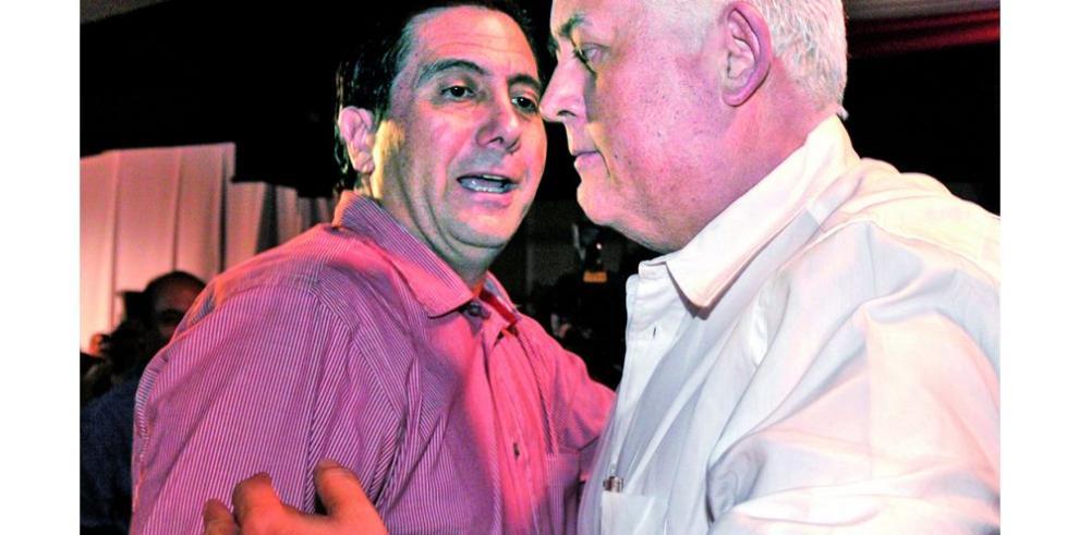 Torrijos y Pérez Balladares polarizan fuerzas del PRD