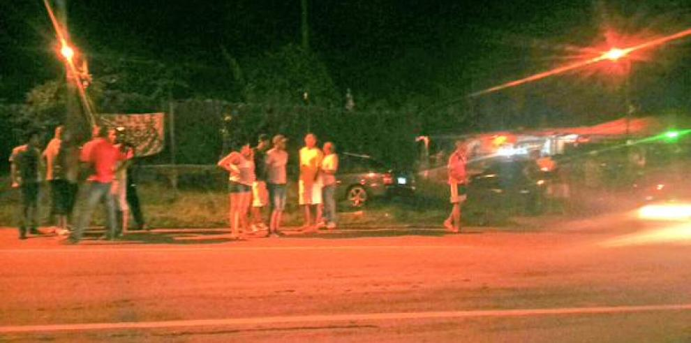 Reportan accidente de tránsito en Pacora