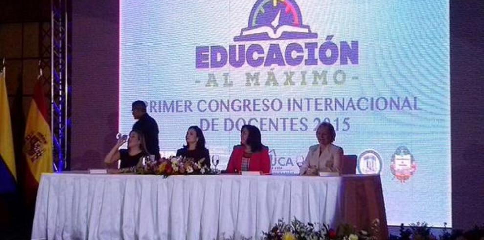 Panamá celebra el primer congreso internacional de Educación