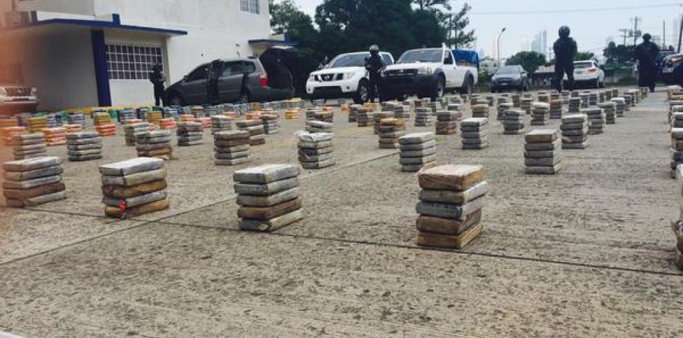 Unas 3.2 toneladas de drogas y 16 detenidos en menos de 72 horas