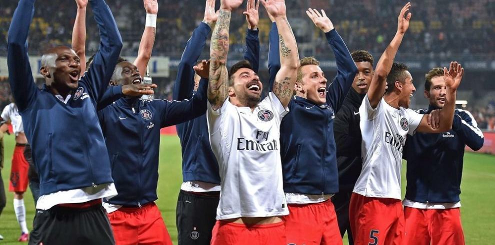 Paris Saint Germain, Benfica y Zenit, nuevos campeones