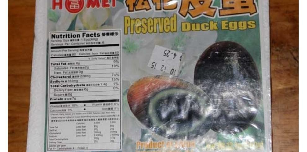 AUPSA saca del mercado huevos de patos y
