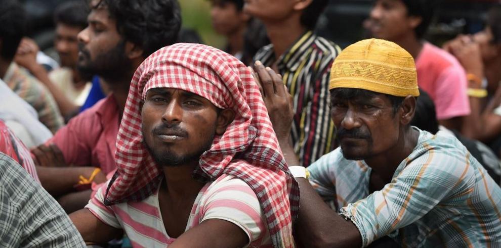 Crisis de migrantes en el sudeste asiático