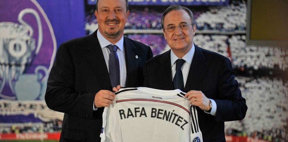 Madrid seguirá siendo ofensivo aseguró Benítez